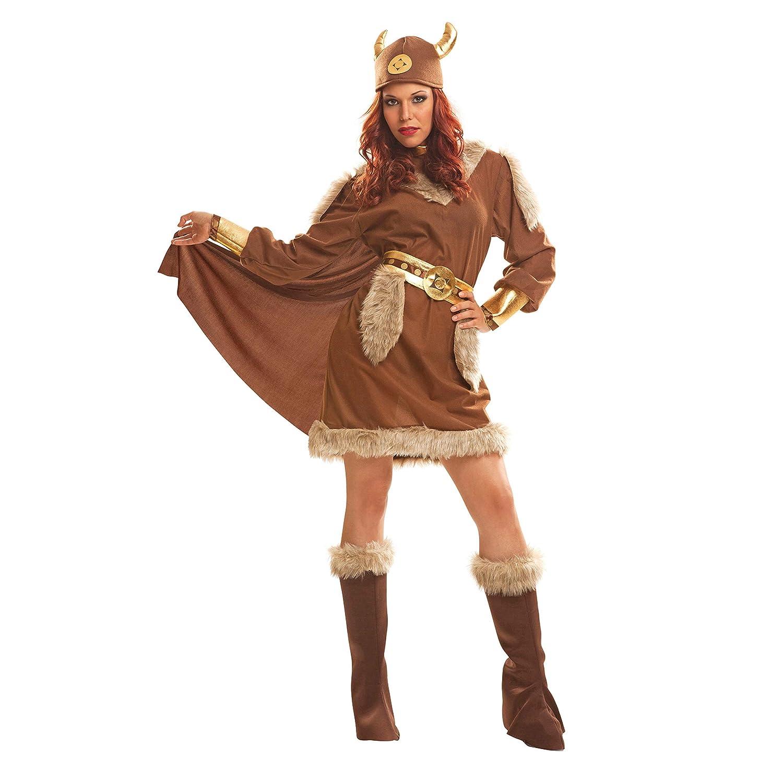 My Other Me Me-201215 Disfraz de vikinga para mujer, XXL (Viving Costumes 201215
