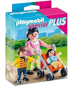 Playmobil Especiales Plus- Mother with Children Especial mamá con niños, (4782)