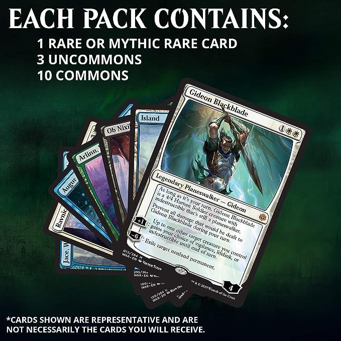 Caja de Refuerzos para Magic: The Gathering War of The Spark: Amazon.es: Juguetes y juegos