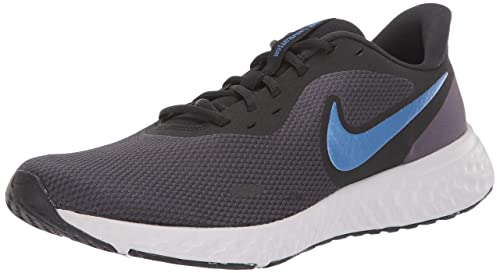 nike blue and gray shoes