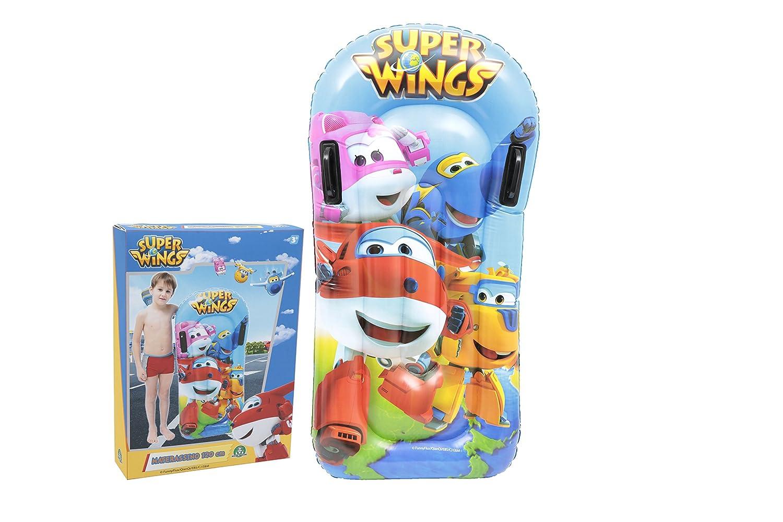 - Giochi Preziosi - Tabla de surf infantil con fantasía de los dibujos animados Super Wings. Artículo perfecto para la playa colchoneta: Amazon.es: ...