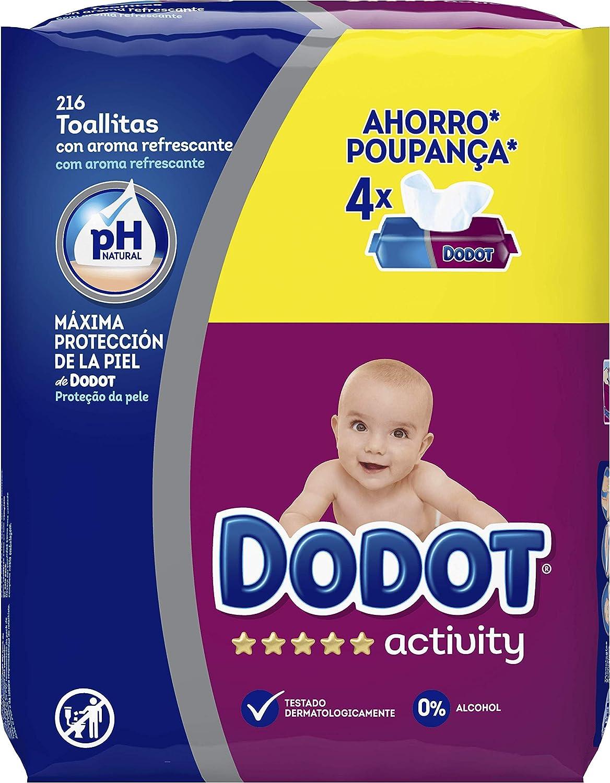 648 unidades Dodot Activity Toallitas recambio para beb/é