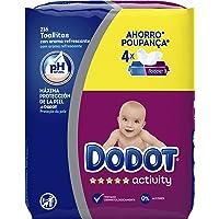 Dodot Activity -Toallitas para bebé, 4 paquetes