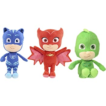 PJ Masks - Catboy, Gekko and Owlette - Authentically Licensed 8.5 Mini Plush - Set of 3