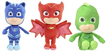 PJ Masks - Catboy, Gekko and Owlette - Authentically Licensed 8.5 Mini Plush - Set