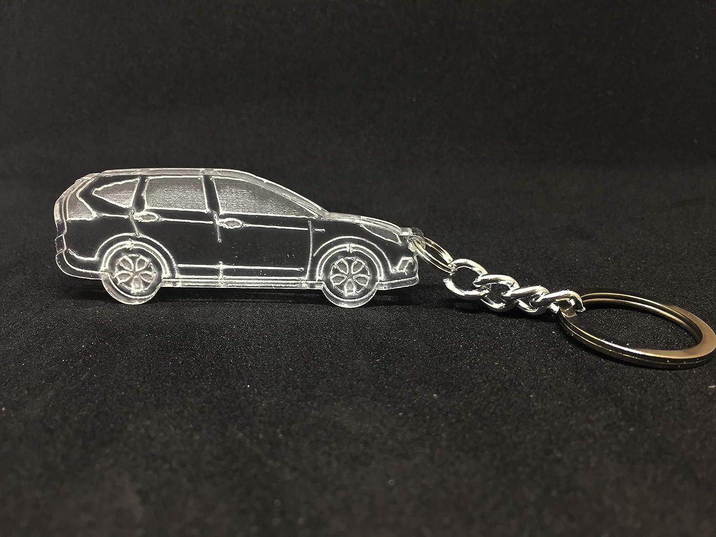 Llavero de coche con anillo para Honda CR-V 4 acrílico ...