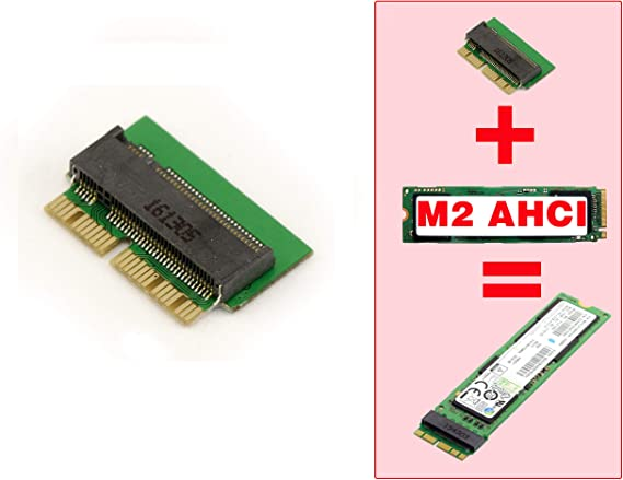KALEA-INFORMATIQUE - Adaptador M2 Type PCIe (B + M o M Key) a Mac ...