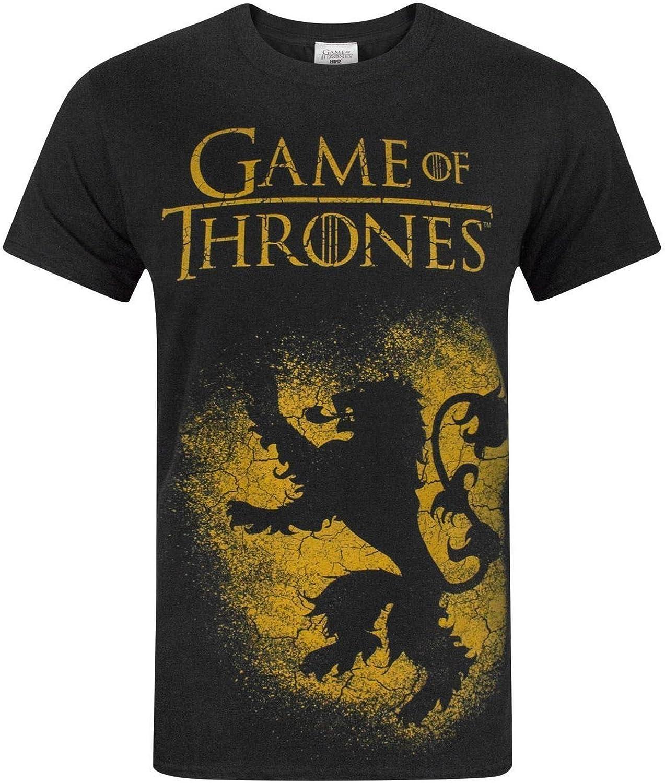 Lannister T-shirt homme Hear Me Roar Game BLASON Thrones of maison got tyrion glace