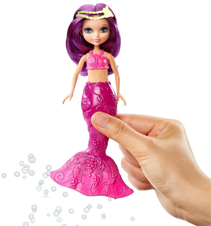Barbie Dreamtopia Bubbles /'n Fun Mermaid Purple Doll