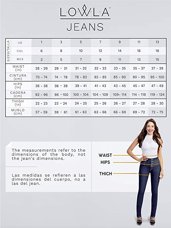 3fa1c42755e2 Lowla Colombian Mid Rise Skinny Butt Jeans