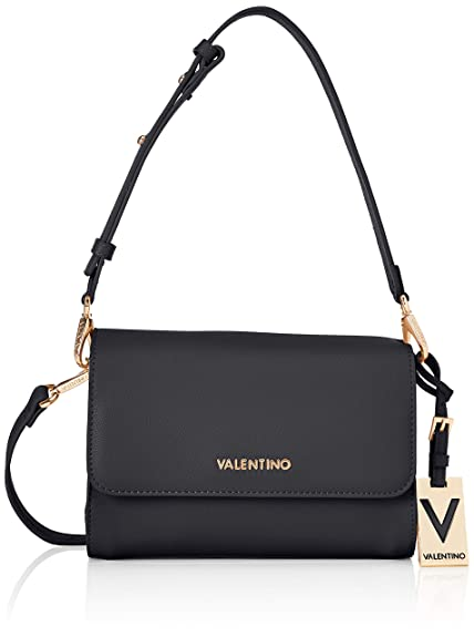 72868bce338 Mario Valentino Women's VBS30103 Satchel UK One Size Black Size: UK One Size