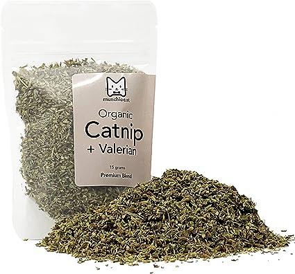 Amazon Com Munchiecat Organic Catnip With Valerian Root Blend