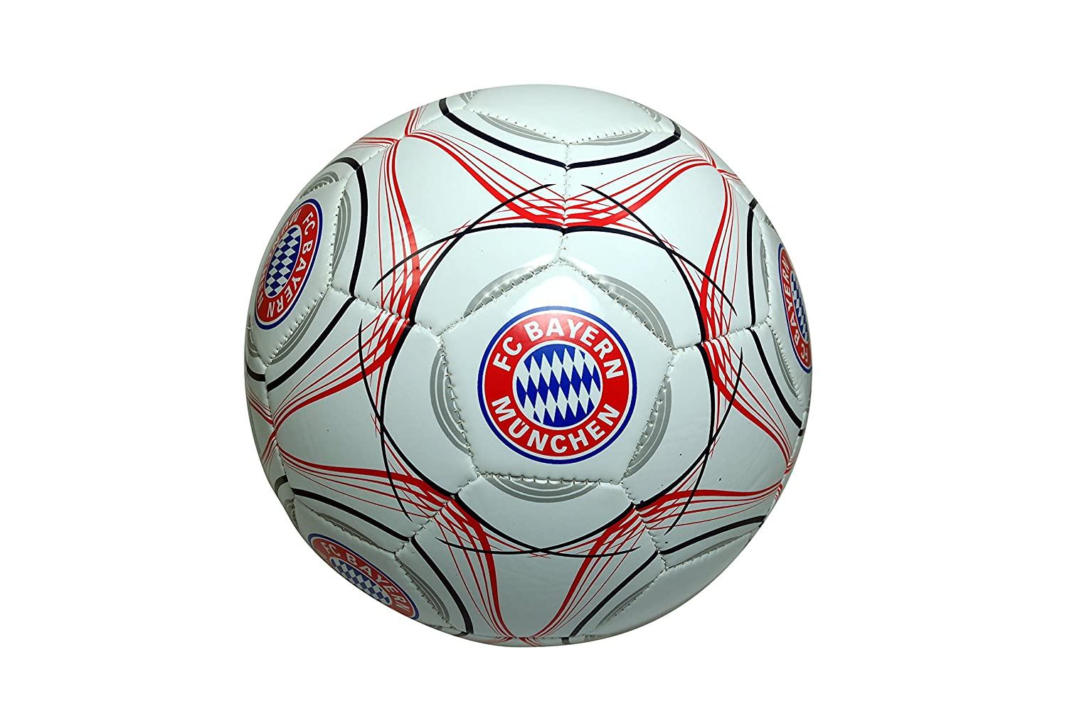 FC Bayern Authentic Official Licensedサッカーボールサイズ5 -014   B06XX8KBL7