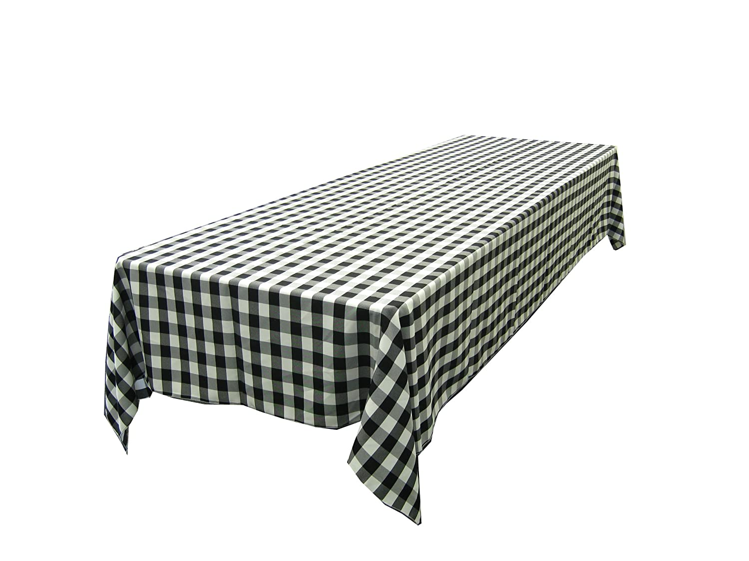 Superb Amazon.com: LinenTablecloth 60 X 102 Inch Rectangular Tablecloth Blue U0026  White Checker: Home U0026 Kitchen Great Ideas