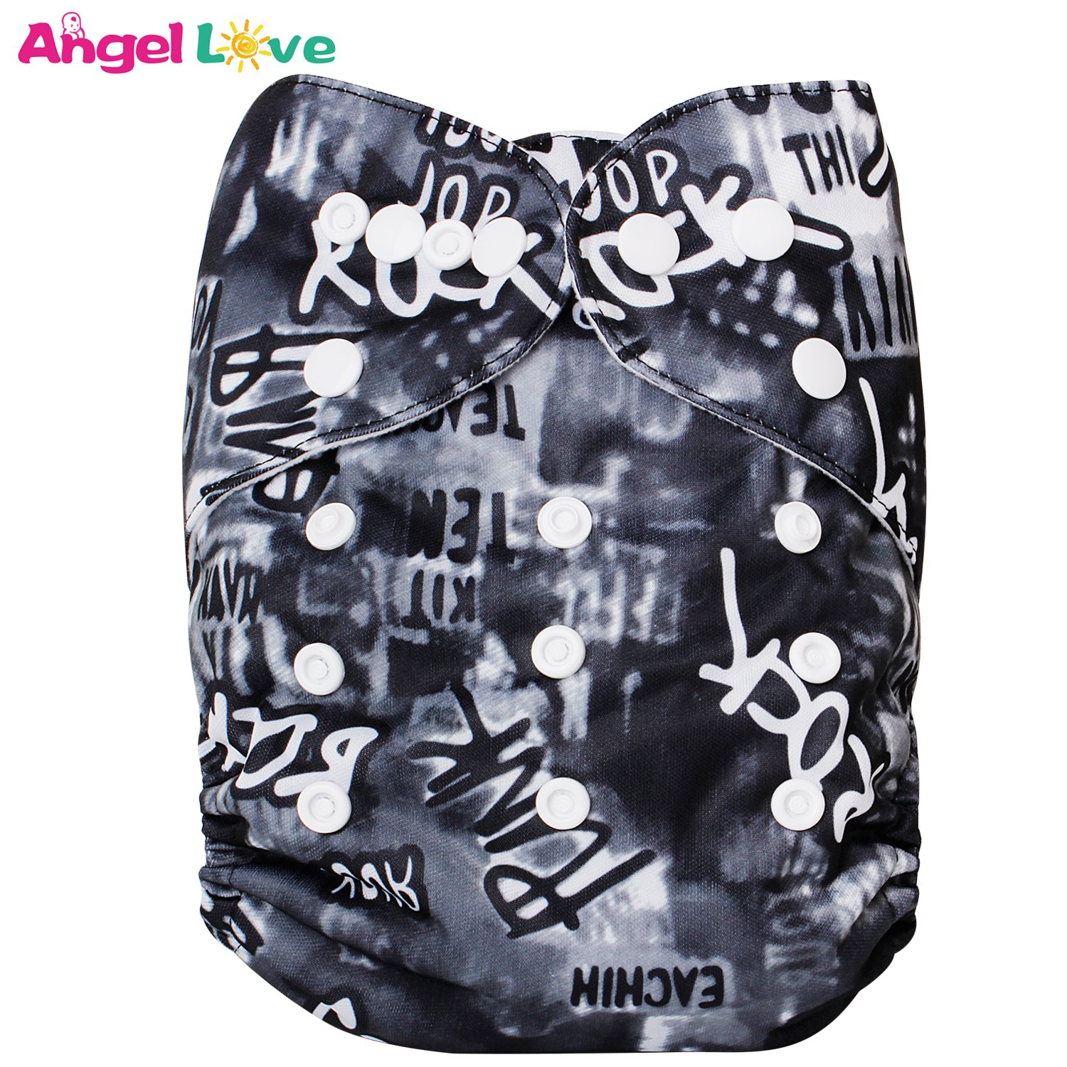 Angel Love Baby Reusable Washable All In One Size Cloth Pocket Diapers