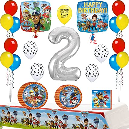 Amazon Combined Brands Paw Patrol Happy 2nd Birthday Party