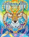 Magic Totem Coloring Book for Grown Ups