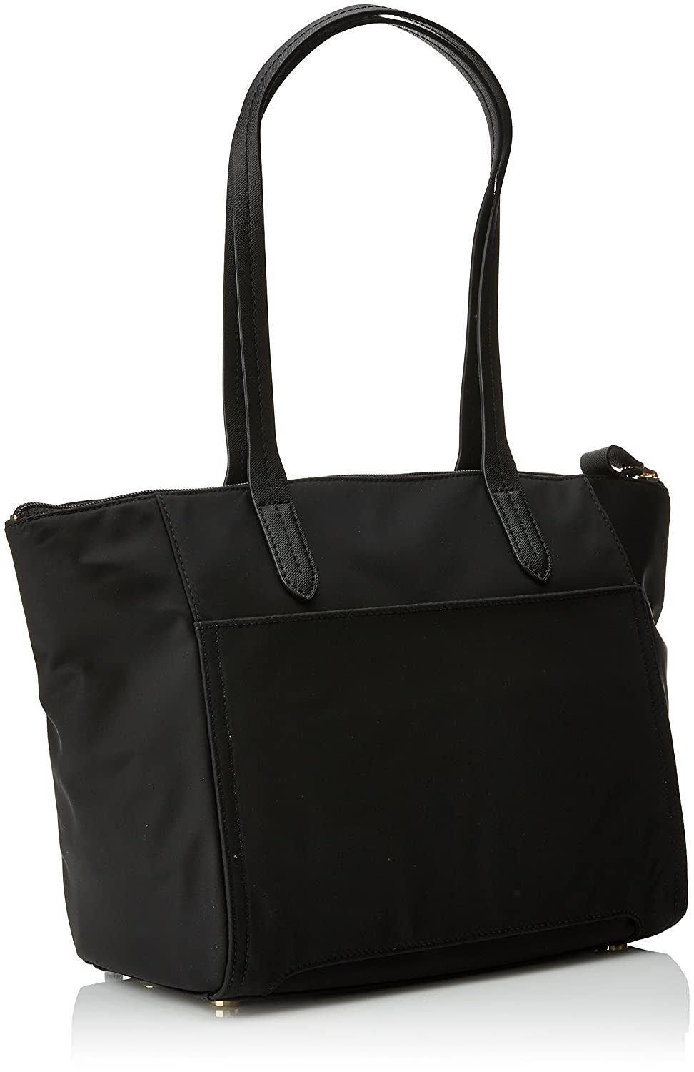 fbede6a13d93 Michael Kors Womens Nylon Kelsey Md Tz Tote Tote Black (Black)   Amazon.co.uk  Shoes   Bags