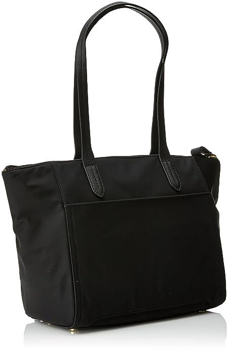 Michael Kors Nylon Kelsey, Bolso Totes para Mujer, Negro (Black), 7.9x25.70x37 cm (W x H x L): Amazon.es: Zapatos y complementos