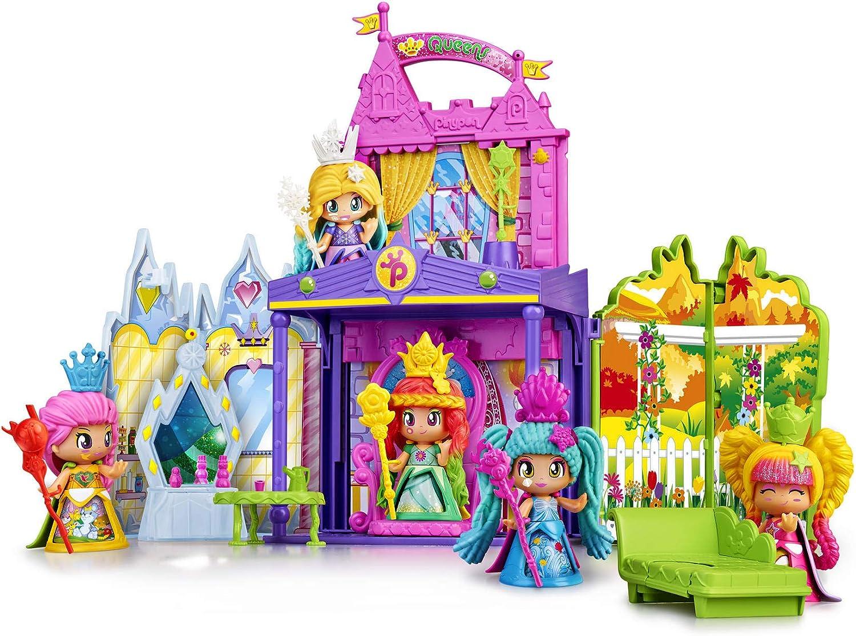 Pinypon- Queens Castlle, Castillo de Las Reinas niñas a Partir de 4 años (Famosa 700015574)