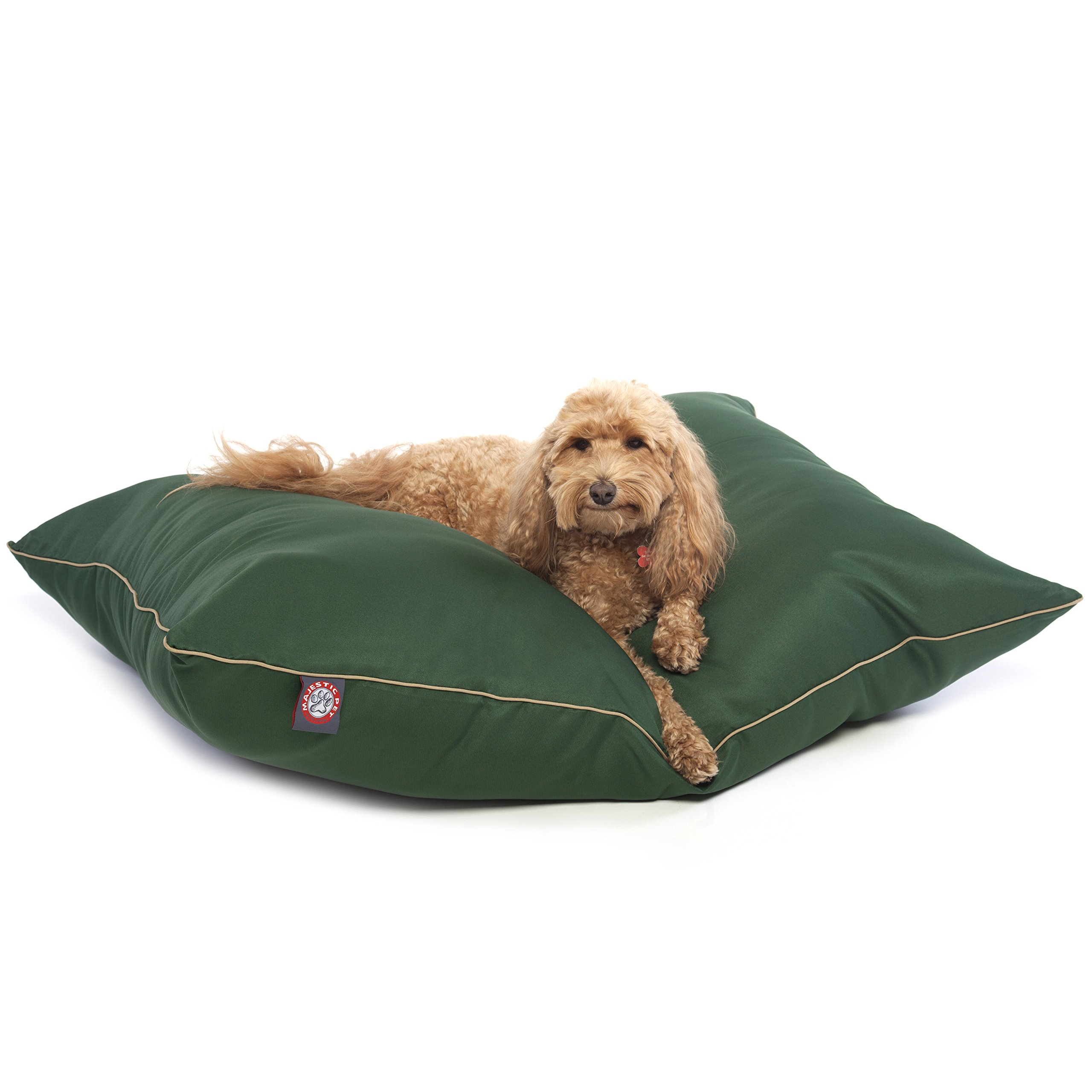 28x35 Green Super Value Pet Dog Bed By Majestic Pet Products Medium