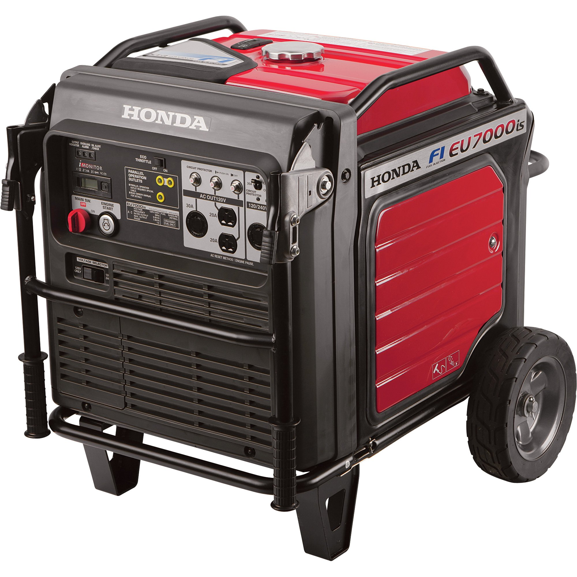 Honda EU7000iAT1 7000 Watt 120/240 Volt Super Quiet