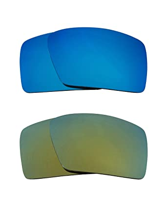 e360eaa3ac Eyepatch 1 Replacement Lenses Blue   Green by SEEK fits OAKLEY Sunglasses