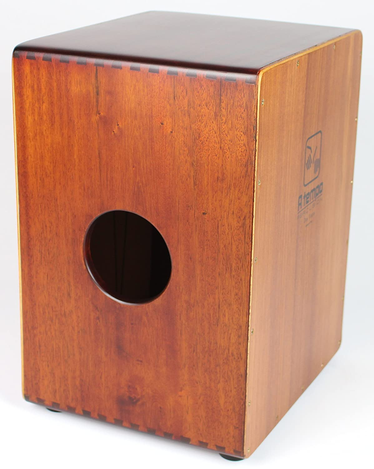 A Tempo Percussion Dos Voces Two Voices Cajon with Free Gig Bag