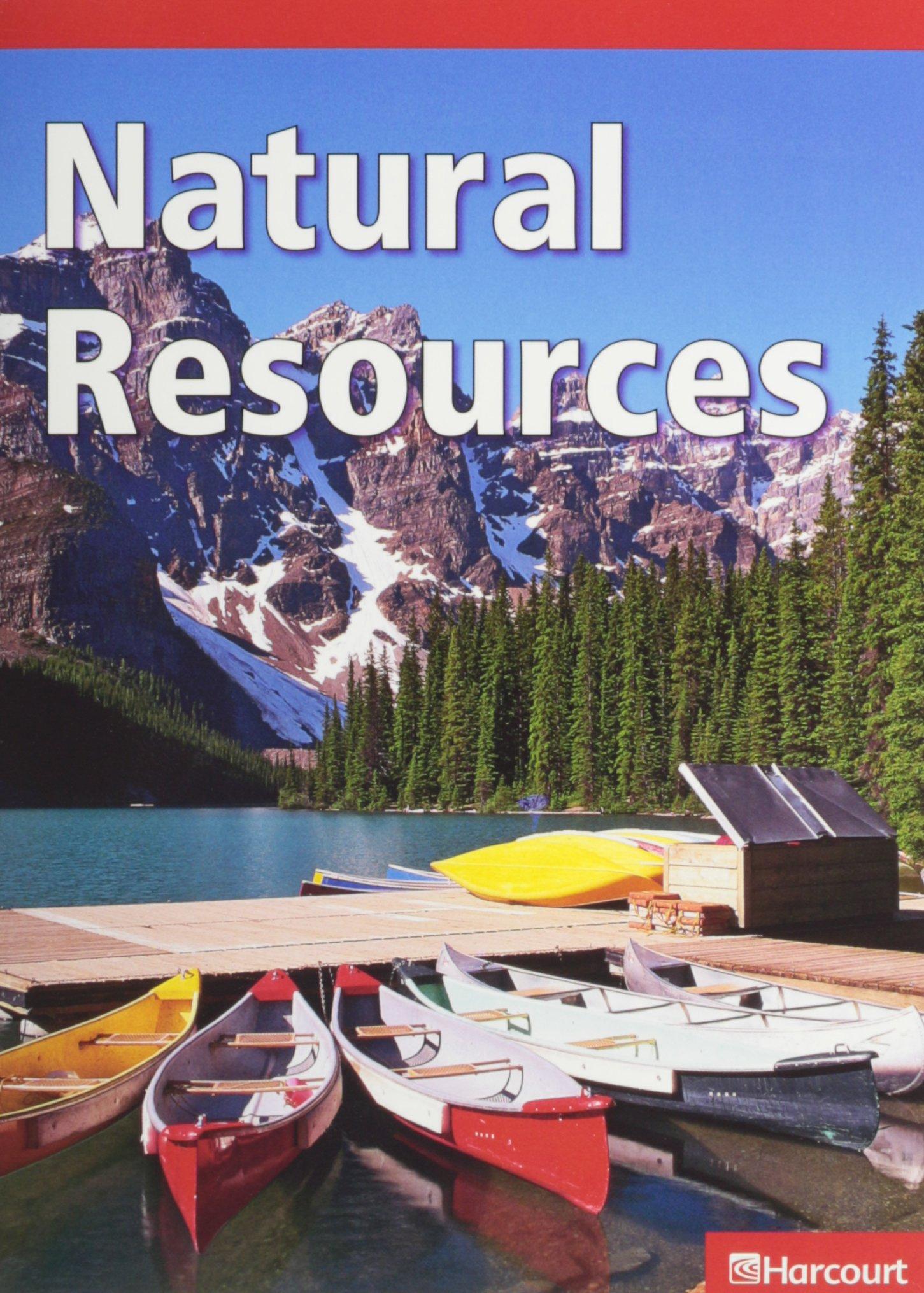 Harcourt Science Leveled Readers: Below-Level Reader 5-pack Level H Natural Resources ebook