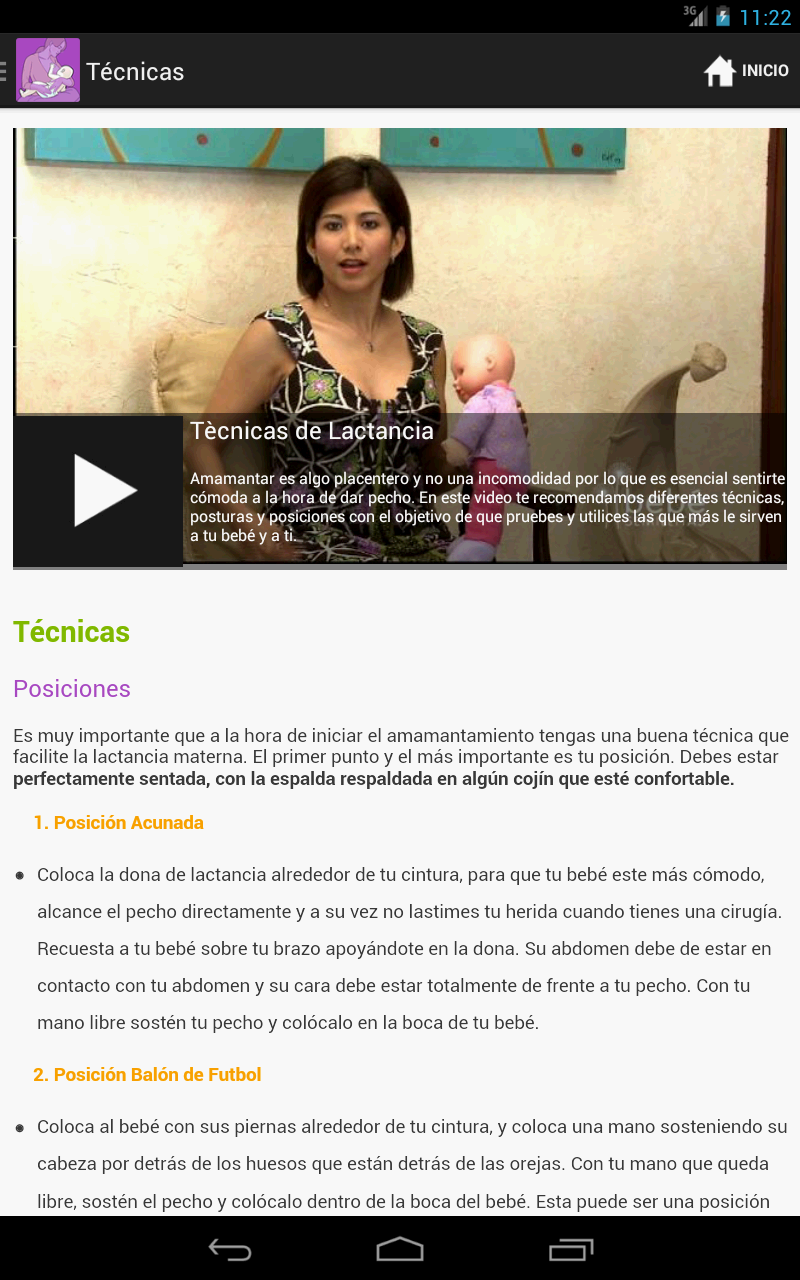 Amazon.com: Lactancia Materna: Appstore for Android