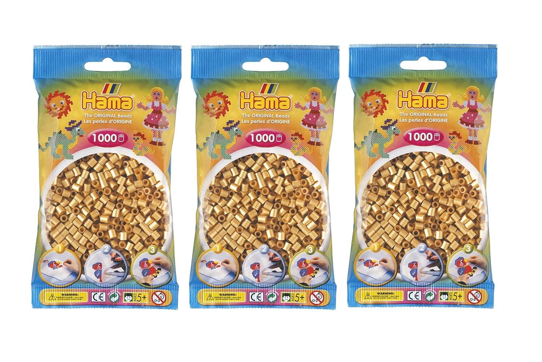 Hama Midi Beads 207-27 3000 pcs (3x1000pcs) - Beige