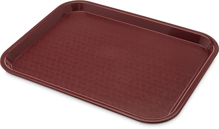 Top 10 Fast Food Tray 10 By 14 Burgundy