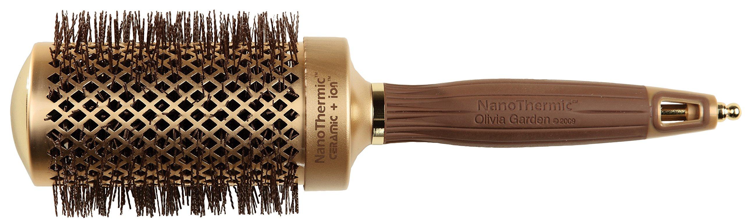 Olivia Garden NT-54 NanoThermic Ceramic + Ion Round Thermal Hair Brush (2 1/8'')