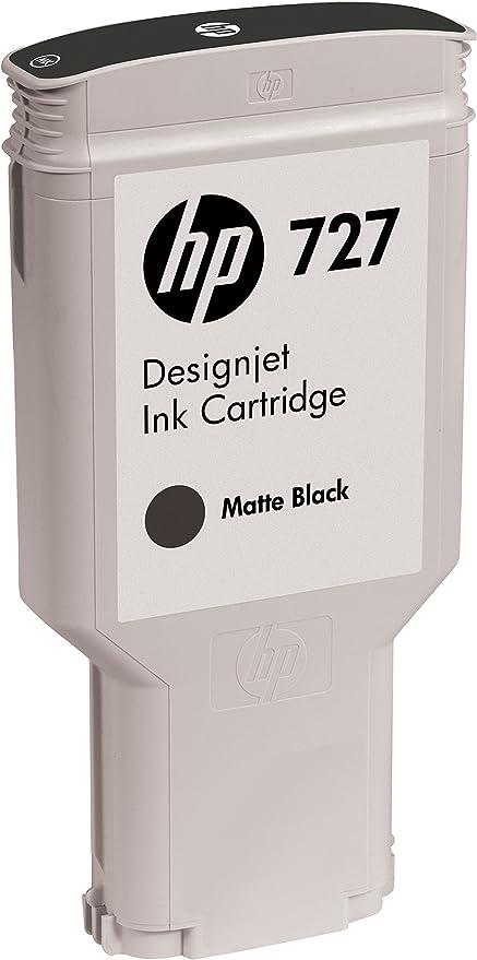 HP 727 300ml Matte Black - Cartucho de Tinta para impresoras (Negro Mate, 300 ml, HP Designjet T920): Amazon.es: Oficina y papelería