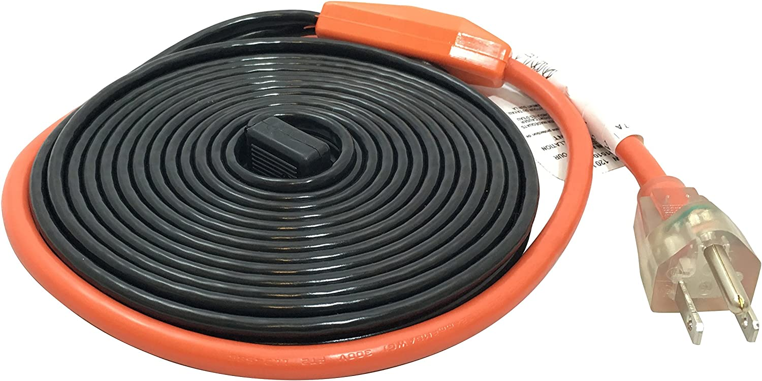 Frost King HC12A Heating Cables, 12 Feet, Black