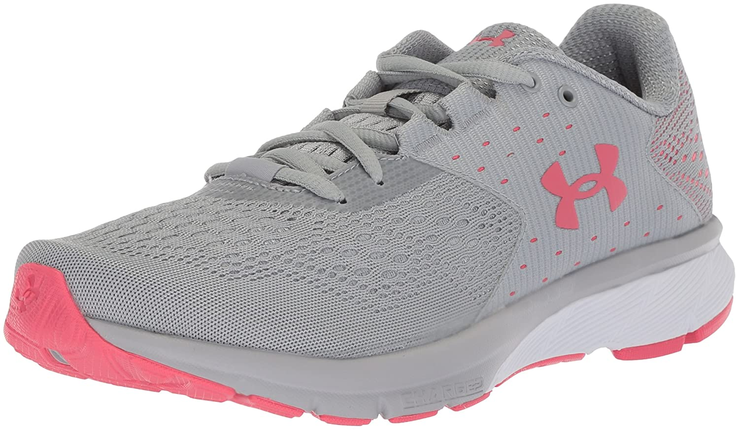 Under Armour Women's Charged Rebel Running Shoe B072FK4KY8 9.5 M US|Overcast Gray (102)/Success