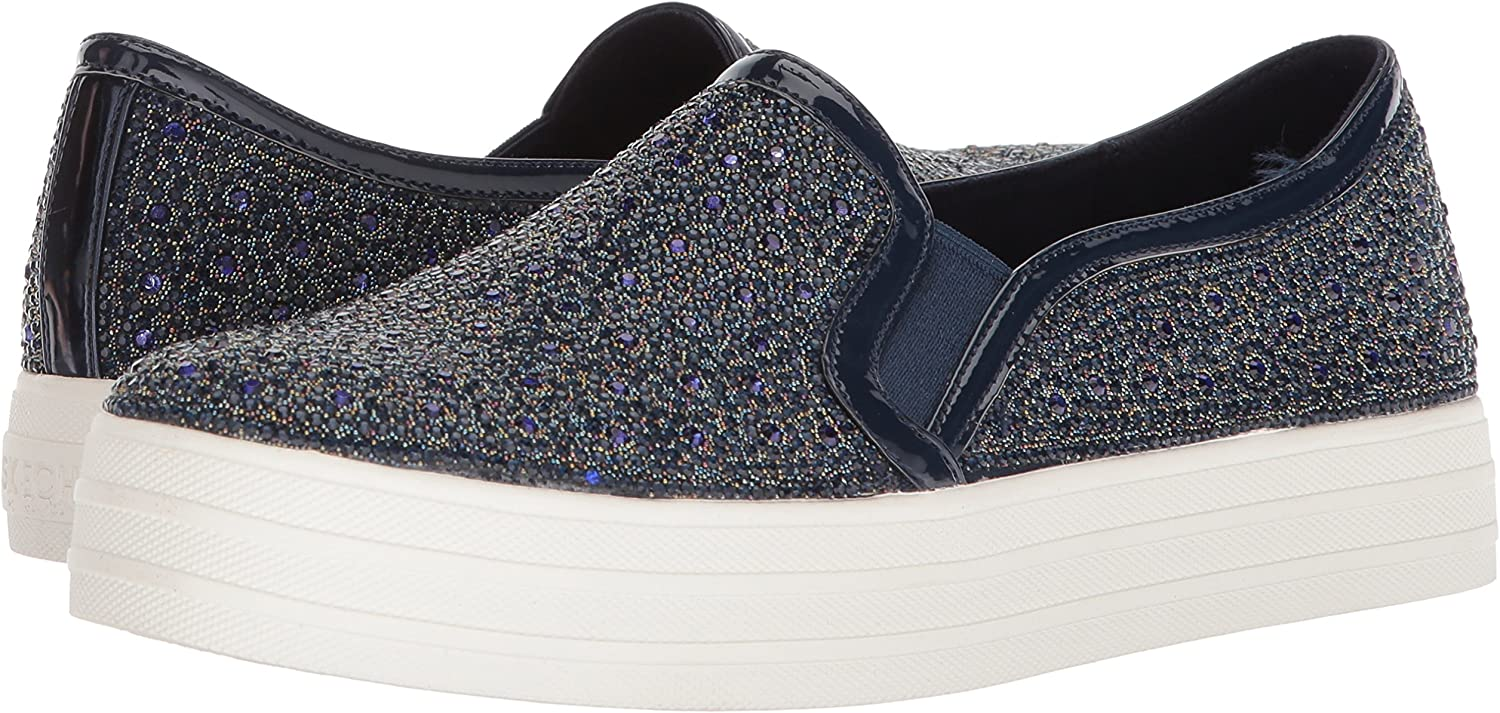 Double Up - Glitzy Gal Slip On Trainers