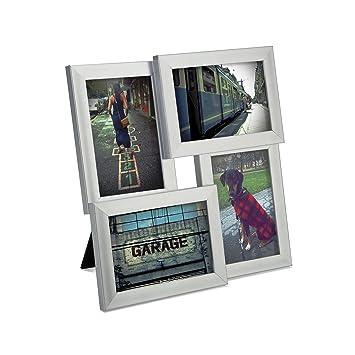 umbra pane 4 opening desktop collage frame 4x6 nickel