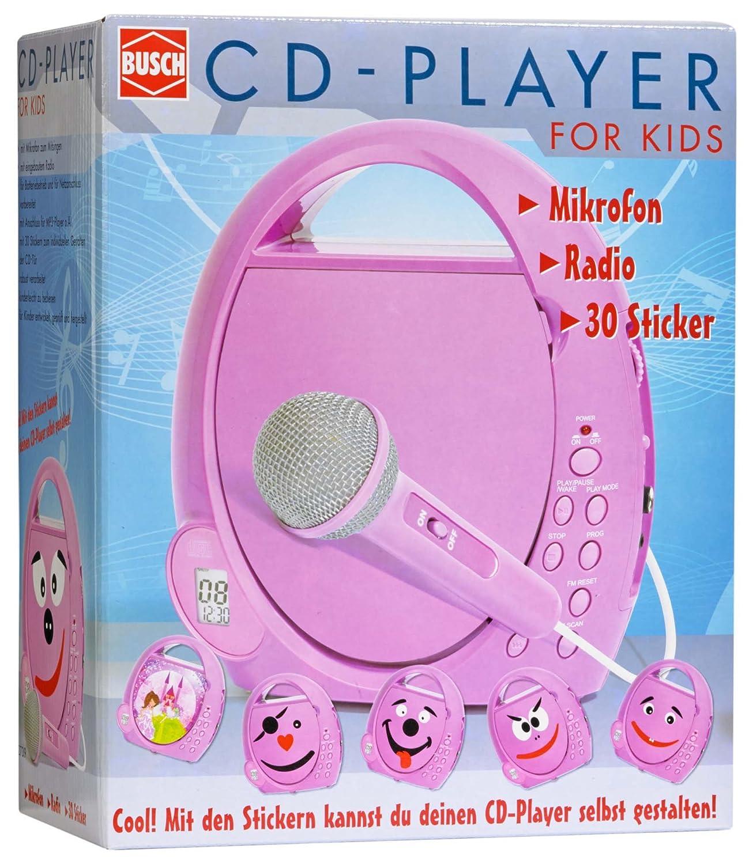 Busch 2739   CD Player Für Kinder, Verschiedene Spielwaren: Amazon.de:  Spielzeug