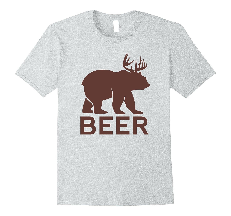 626a56d5e Beer Bear Deer Shirt Funny Drinking Humor Graphic tee-BN – Artshirtee