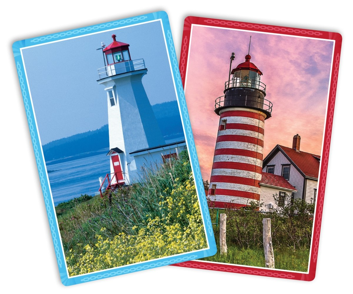 Springbok Lighthouses Standard Index Playing Cards 91-73068