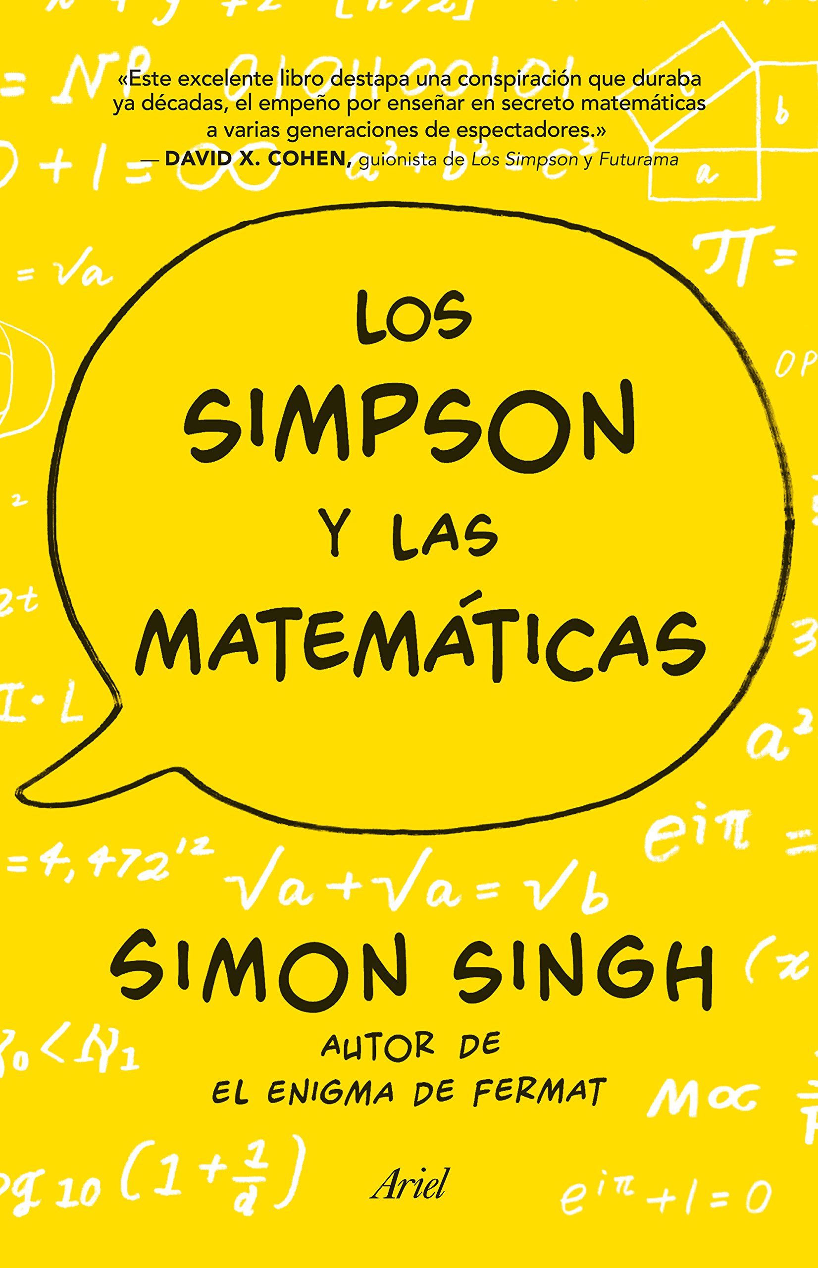 Los Simpson y las matemáticas: Simon Singh autor de El ...
