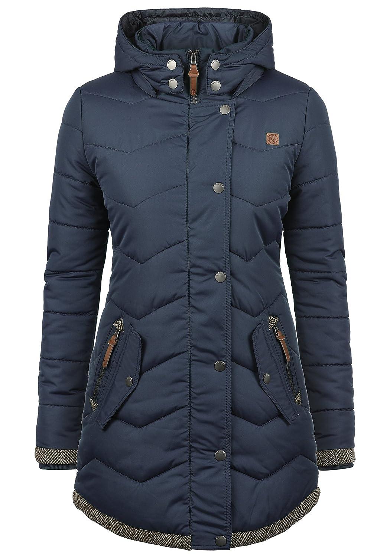 Desires Denise Women's Quilted Coat Parka Outdoor Jacket with Hood