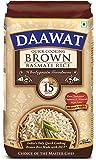 Daawat Brown Basmati Rice, 1kg, Poly Pouch