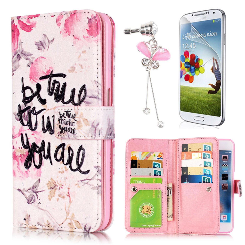 Sunroyal ® para Samsung Galaxy Grand Plus / Grand Neo / Grand Lite GT-I9060I i9060 i9062 i9082 Funda Ultra Slim PU Cuero Flip Caso Leather Case Wallet ...