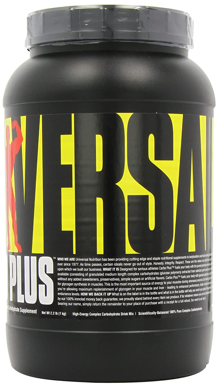 Universal Nutrition Carbo Plus Unflavored , 55 servings 1kg 2.2lbs 2-Pack, 110 servings 2kg 4.4lbs total