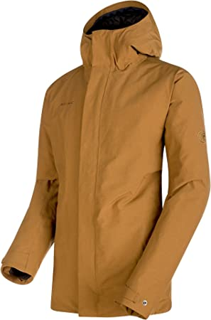 Snowwear Jacket Men Mammut Chamuera Hs Thermo Hooded Parka Amazon Co Uk Sports Outdoors