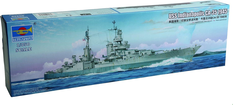 Trumpeter USS Indianapolis CA35 Cruiser 1945 (1/350 Scale)
