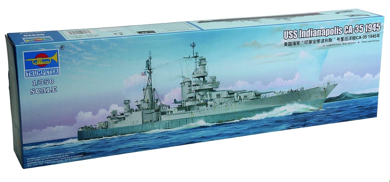 Trumpeter 05326 Modellbausatz USS USS USS Indianapolis CA-35 1945 63e0c3