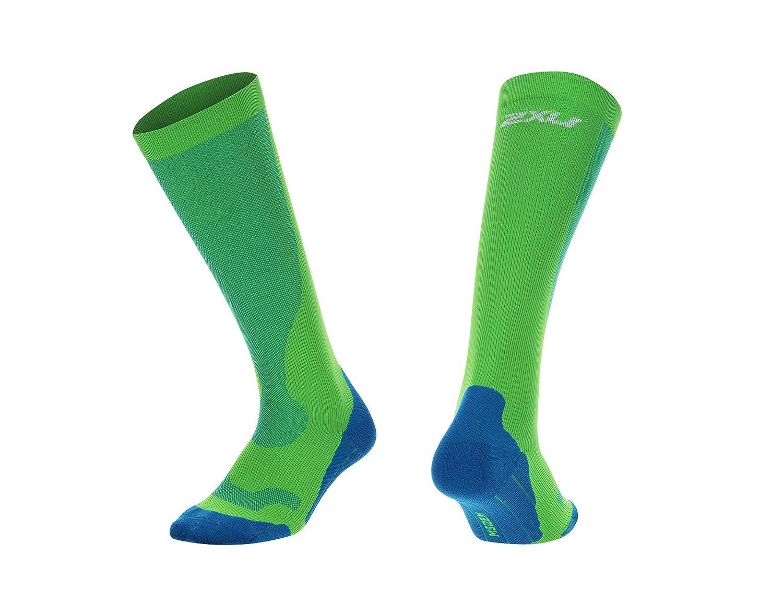 2XU Mens Compression Run Socks MA2442e